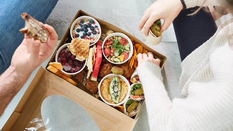 Brunchbox von Daily Greens