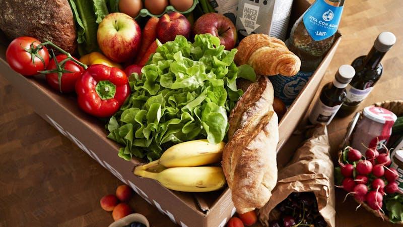 Obst- und Gemüsebox von Frischepost