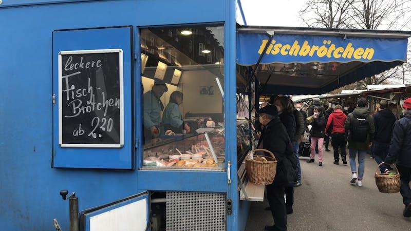 Fischbrötchen Winterhude Goldbekmarkt