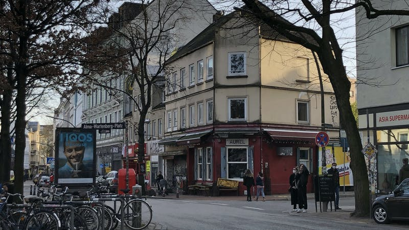 Alma-Wartenberg-Platz in Ottensen