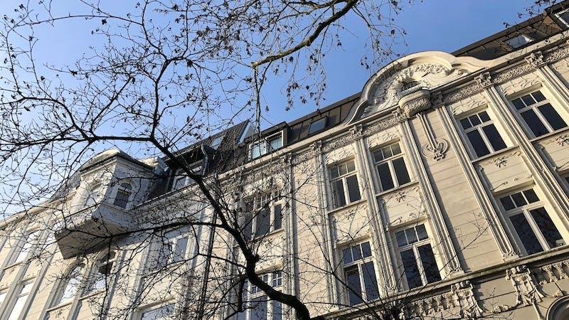 Häuser in der Bernadottestraße