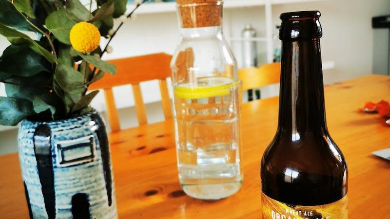 Ratsherrn Bier auf Tisch