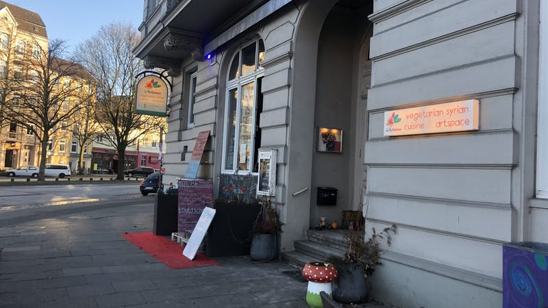 Syrisch-mediterranes Restaurant, Falafel, Kunst