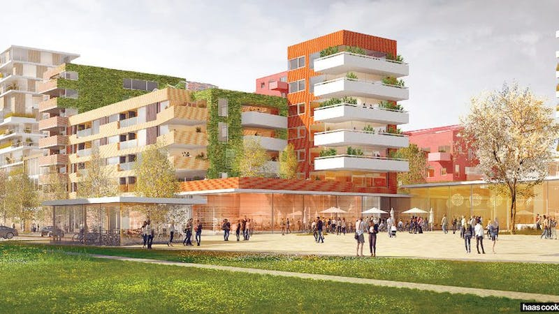 Rendering Projekt Berliner Platz