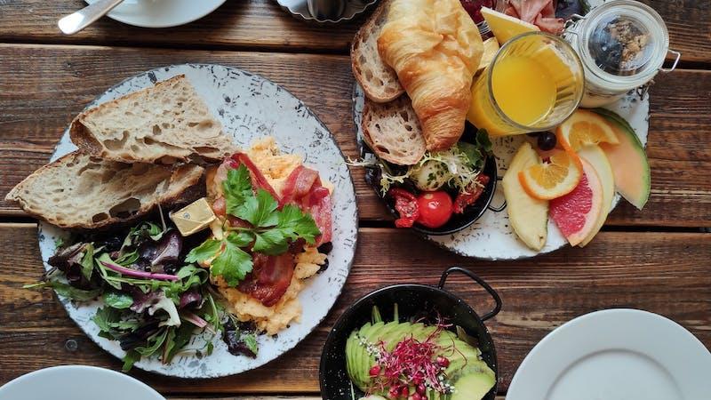 Frühstück im Moki's Goodies