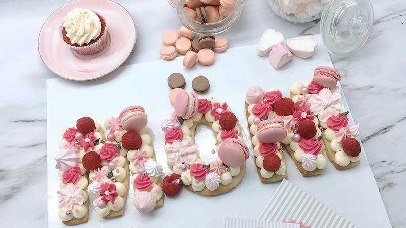 Letter-Cake zum Muttertag von Style your Cake