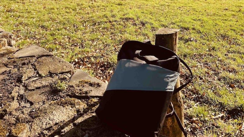Geleaster Rucksack von unown
