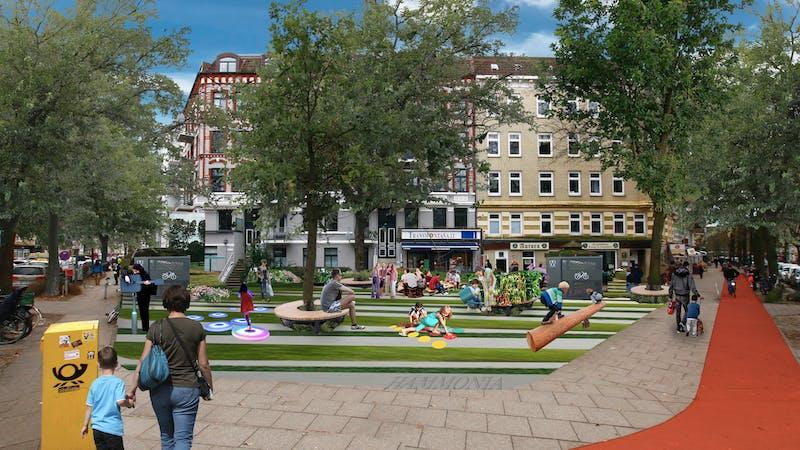 Superbüttel Platz Lappenbergsallee