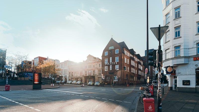 Die Davidwache auf St. Pauli