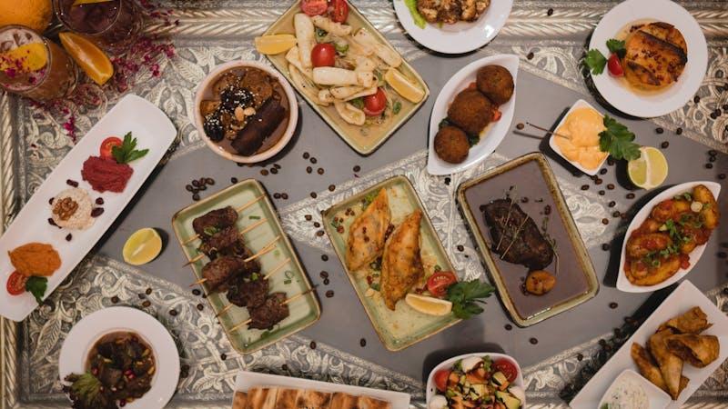 Tapas, Spanisch, Marokkanisch, Essen