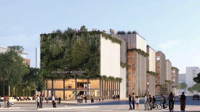 Neues Rathaus Wandsbek