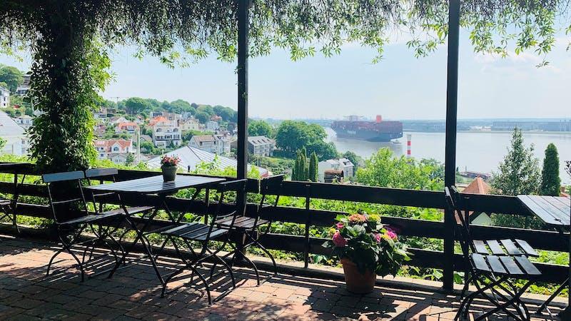 Terrasse vom Kaffeegarten Schuldt