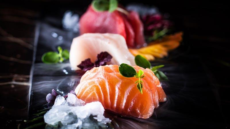 Sushi im Hamburger Restaurant Tyo Tyo