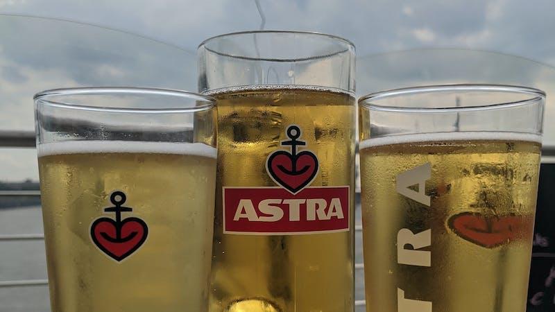 Astra-Biergarten Hamburg