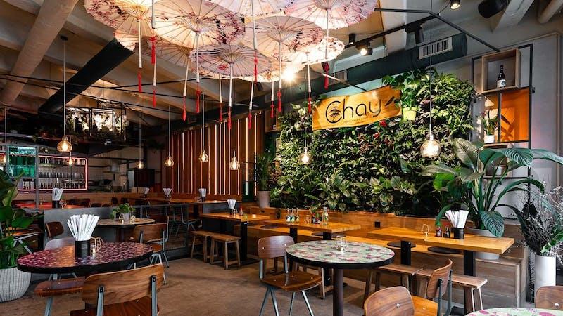 Interior im Chay Vegan Hamburg