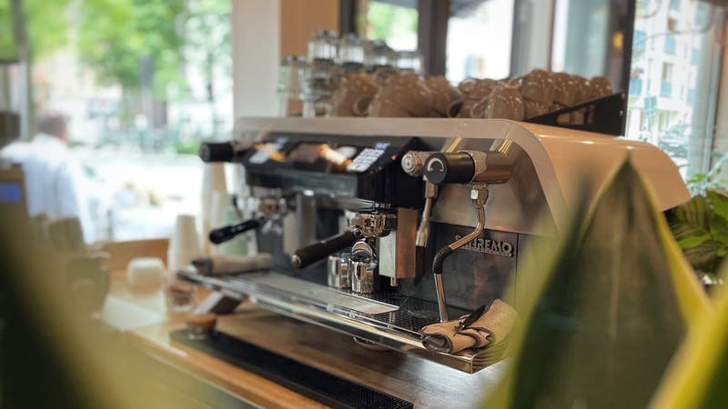 Café Third Room Kaffeemaschine