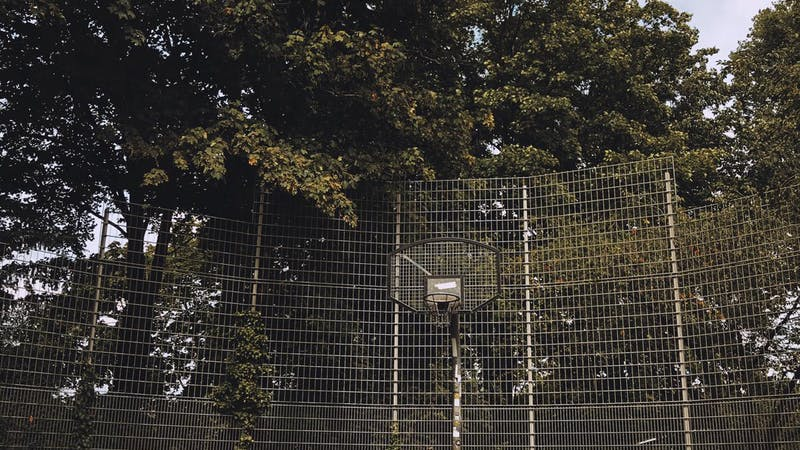 Basketballplatz Planten un Blomen