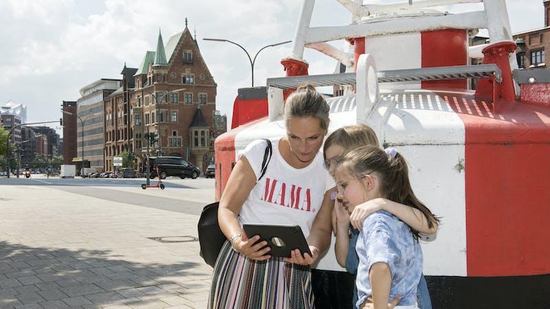 GEOlino-Stadtrallye von Meet the World in der HafenCity