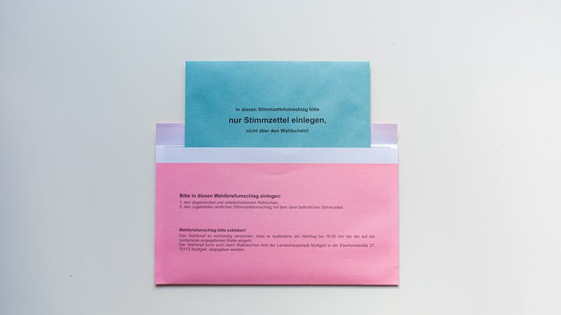 Bundestagswahl, Briefwahl