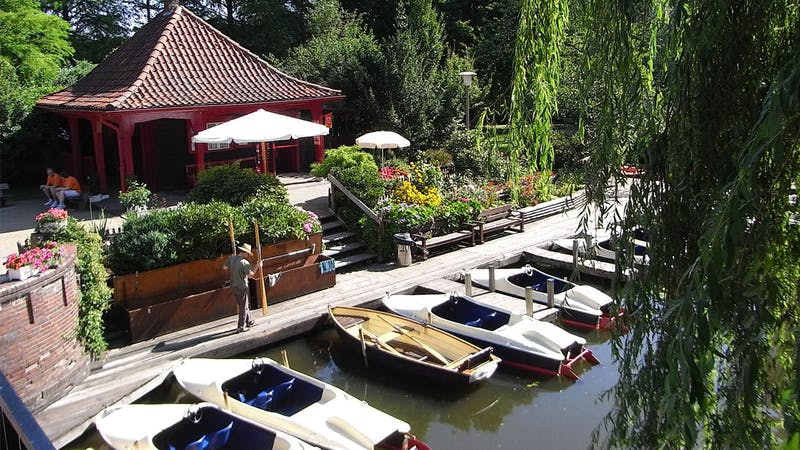 Bootsvermietung Liebesinsel im Stadtparksee