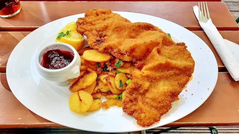 Schnitzel in Hamburg