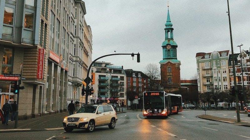 Straße in Hamburg-St. Georg