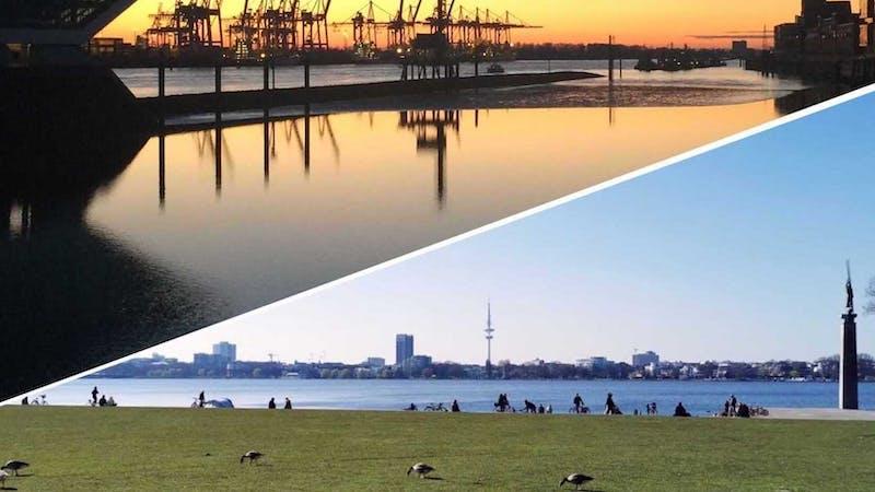 Alster vs. Elbe