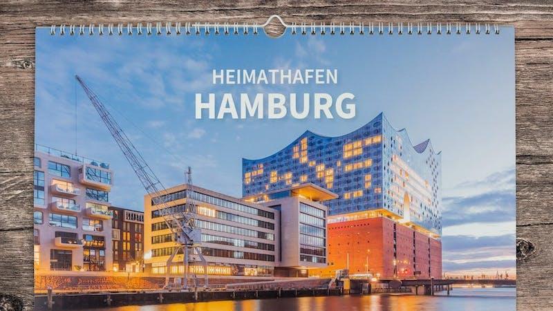 Kalender Heimathafen Hamburg 2022 Titelbild