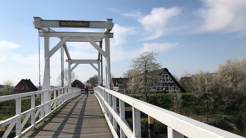 Spaziergang Altes Land Hogendiekbrücke