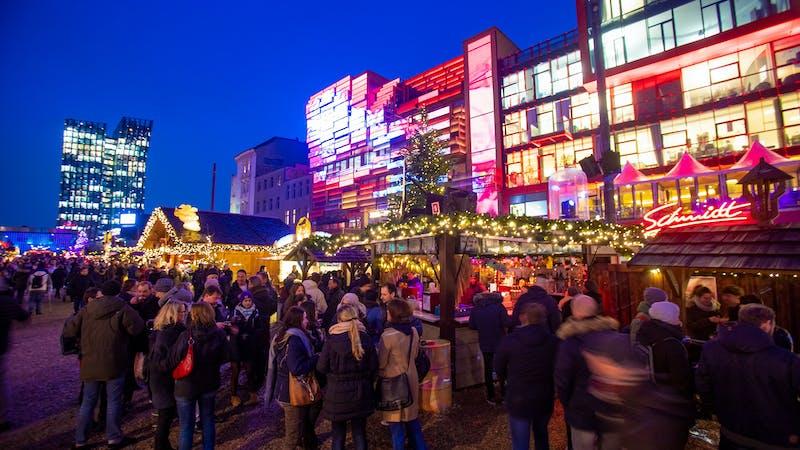 Weihnachtsmarkt Hamburg Santa Pauli